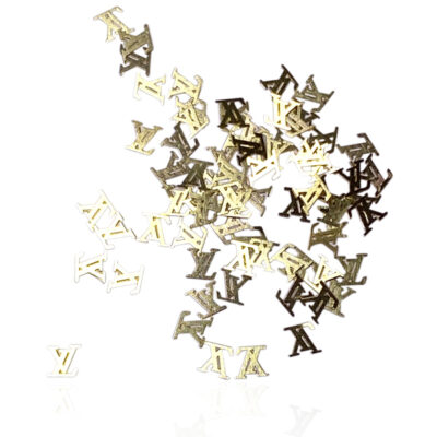 Gold Metallic Decals